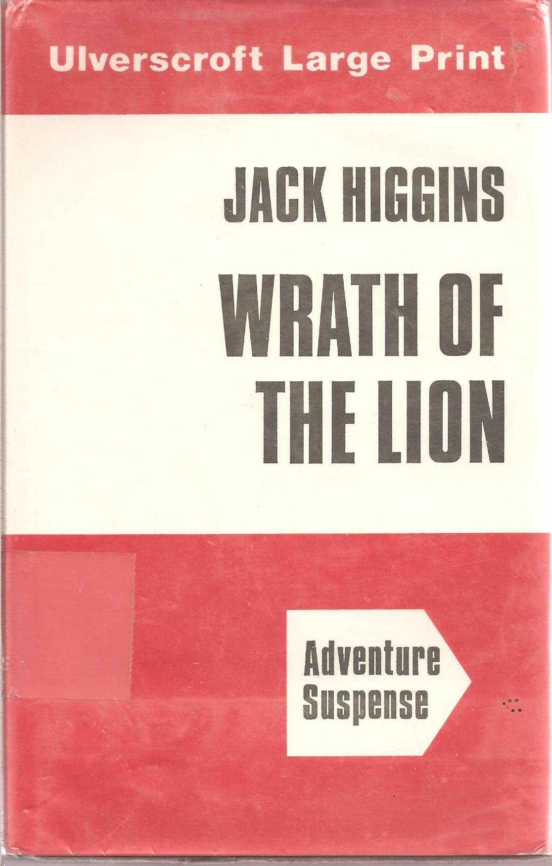 Book cover of Wrath of the Lion