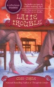 book cover of latte trouble