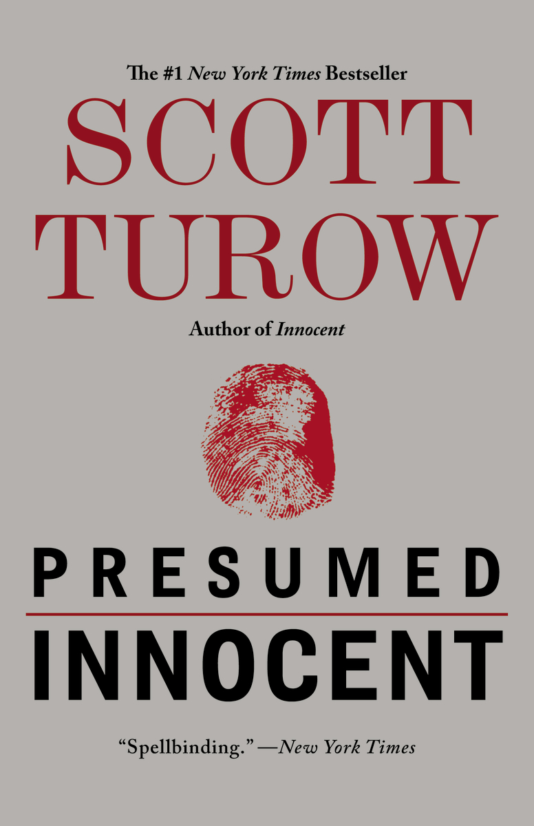Book cover of Presumed Innocent
