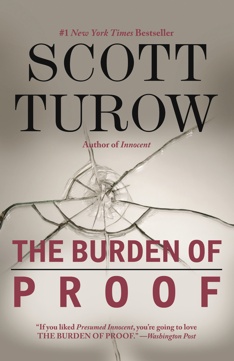 Book cover of The Burden of Proof